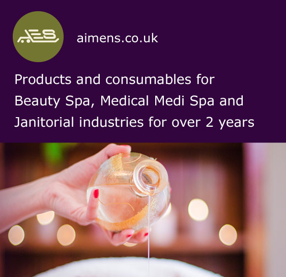 Aimens - Products and consumables for Beauty Spa, Medical Medi Spa and Janitorial industries for over 2 years