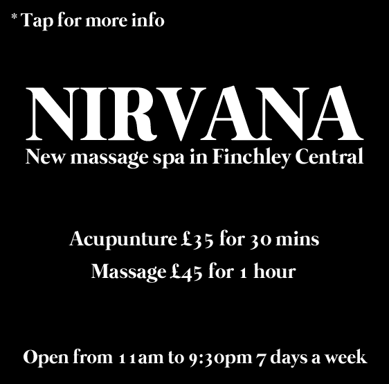 Nirvana - New massage spa in Finchley Central