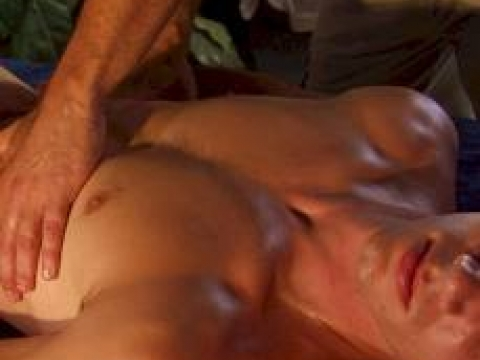 Nice massage by Asian young male