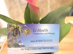 Li Health Chinese Massage KIng's Cross