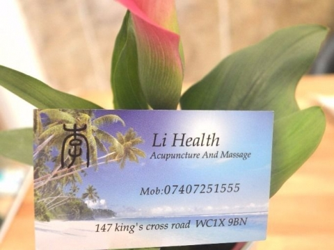 Li Health Chinese Massage KIng's Cross