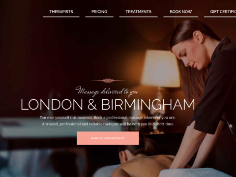 Mobile Massage Booking In London