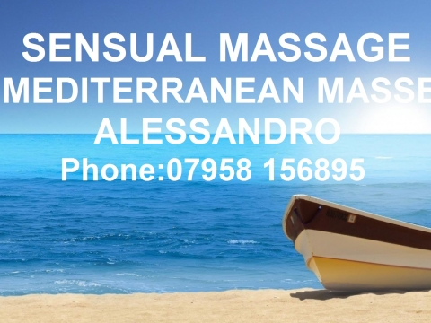 MALE FOR MALE MASSSAGE / SPECIAL FULL BODY MASSAGE BY MEDITERRANEAN MALE MASSEUR