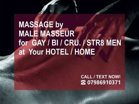 ▲M4M MASSAGE▲ at Your HOTEL / HOME ▲ (OUT-CALL ONLY) in London