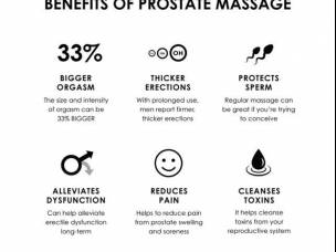 DETOXIFYING AND PLEASURABLE PROSTATE MASSAGE
