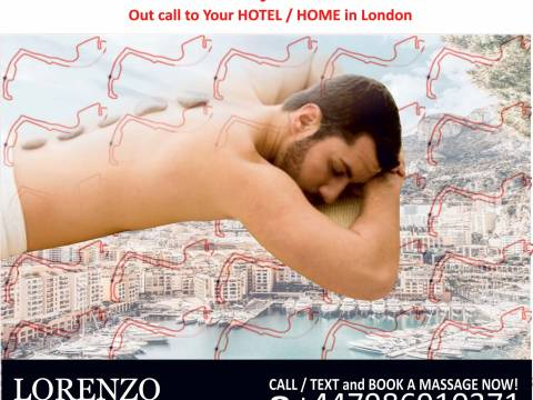 MASSAGE FOR GAY / BI / STR. MEN TO YOUR HOTEL / HOME IN LONDON