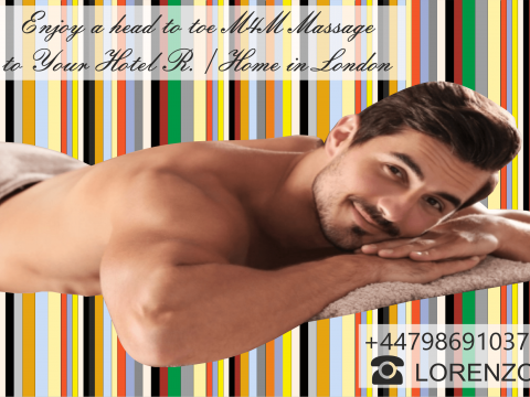 MASSAGE FOR MEN BY …MALE MASSEUR  …OUT-CALL TO YOUR HOTEL / HOME ONLY IN LONDON