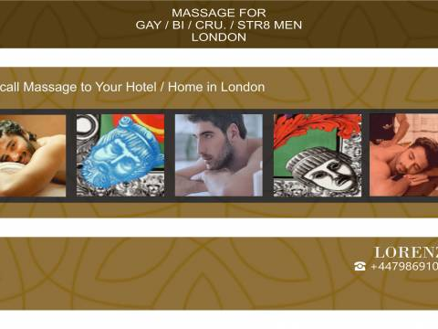 Full Body ★ MASSAGE FOR MEN (GAY/BI/STR) to YOUR HOTEL/ HOME OUT-CALL in LONDON