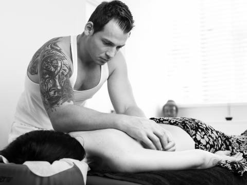 Professional massage with a qualified masseur with over 8 years experience