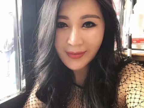 Chinese girl, body massage.