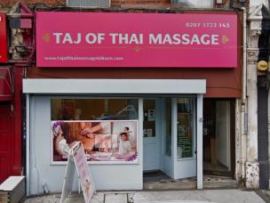 Taj of thai massage
