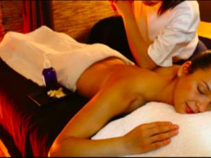 Thai touch massage